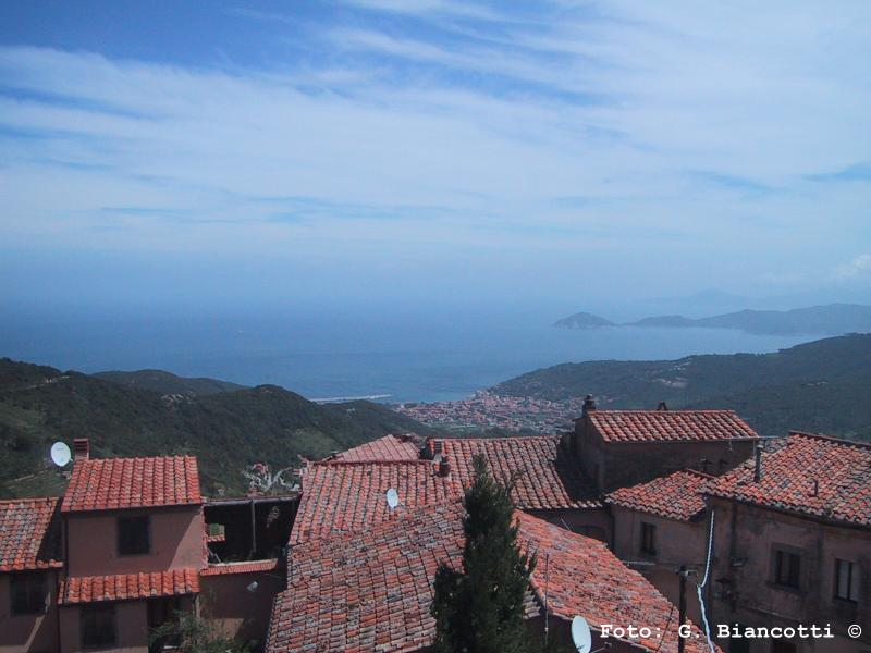 Vista da Marciana all'Isola d'Elba