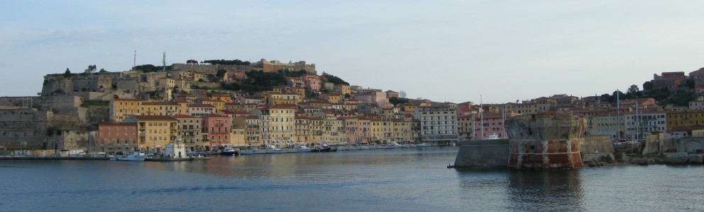 Portoferraio is the principle arrival point on the island and one of the most active tourist ports in Italy.