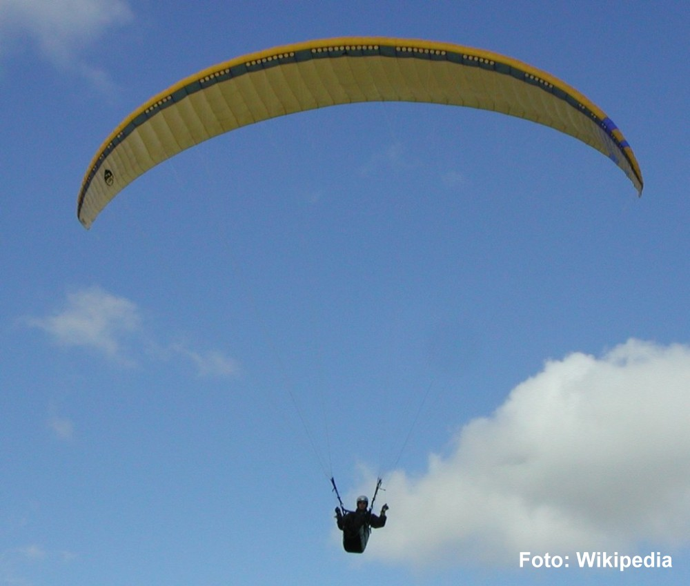 Paragliding on Elba Island